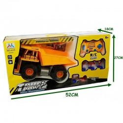 ProCart® Teherautó távirányítóval, billenős dömper, LED fényszórók, 32x16 cm