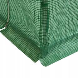 ProCart® Melegház Védőfólia, 3x6x2m, UV szűrő, ablakok, 2 bejárat