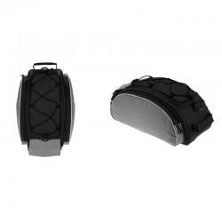 MT MALATEC kerékpár táska, csomagtartóra szerelhető, 13 l kapacitás, vízálló, levehető öv