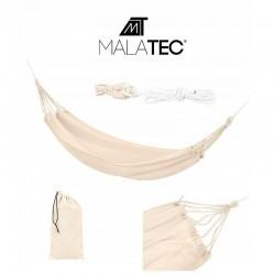 MT MALATEC Kerti függőágy, egyszemélyes, 80x200cm, maximális súly 150 kg, tároló zsák