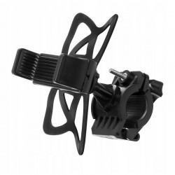 MT MALATEC kerékpár/motorkerékpár telefon tartó, univerzális, lengéscsillapítás, 360 fokos beállítás