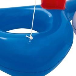 Bestway vízi röplabda készlet, felfújható háló és labda, 244x64 cm, vinil anyag