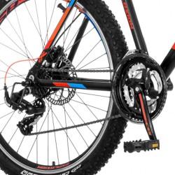 Visitor Explosion MTB kerékpár, 26 hüvelykes, 21 sebességes Shimano, alumínium váz, tárcsafékek