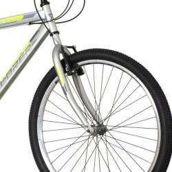 Explorer Spark MTB kerékpár, 26 hüvelykes, acél váz, 18 sebességes Power, V-fék, szürke