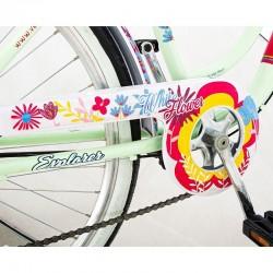 Explorer Lady Női kerékpár, 26 hüvelyk, Power sebességváltó, acél váz, V-fék