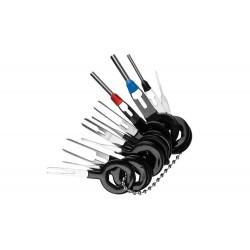 MT Malatec autószerszámok és kulcskészlet, 40 db, kárpitok szétszerelése