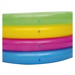 Bestway felfújható medence gyermekeknek, 157x46 cm, többszínű, 4 gyűrűs