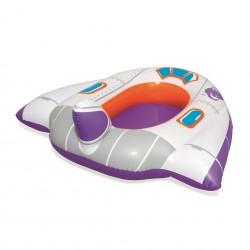 Bestway felfújható matrac gyerekeknek, űrhajó alakú, többszínű
