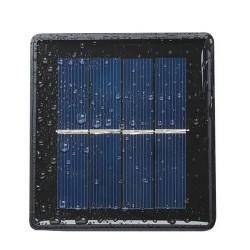 MT Malatec napelemes füzér, többszínű, 2 világítási mód, hossza 3 m, IP44