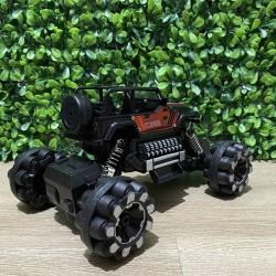 ProCart® Drift Die Cast Távirányítású autó, 1:16, nagy rugós felfüggesztés, 14x22x12 cm