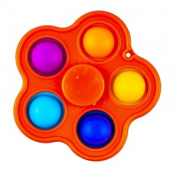 ProCart® 2 az 1 -ben interaktív játék, spinner és POP IT buborékok, 8x8 cm
