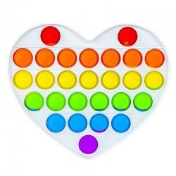 ProCart® POP IT szív játék,...