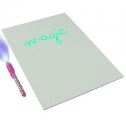 ProCart® foszforeszkáló újraírható tábla, tartalmaz UV jelölőt, kéken világít