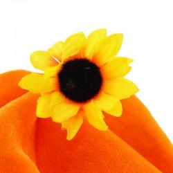 ProCart® Bohóckalap, virágpermetező, színes pánt, narancs színű