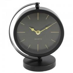 Segnale Fém asztali óra, meridián, stabil tartó, mérete 16,5x10,5x20 cm