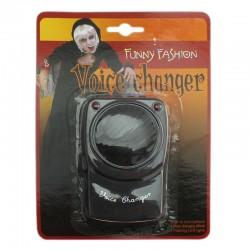Funny Fashion hangváltó, elektronikus hangmodulátor, Halloween kiegészítő