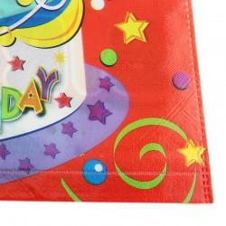 Funny Fashion party szék huzat, Happy birthday üzenet, 38x48 cm