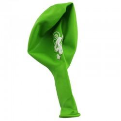 Funny Fashion 4 -es számú lufi készlet, 12 db, sokszínű, latex anyagú, ovális