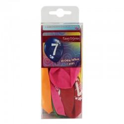 Funny Fashion lufik, 7 -es szám, latex anyag, sokszínű, 12 darab