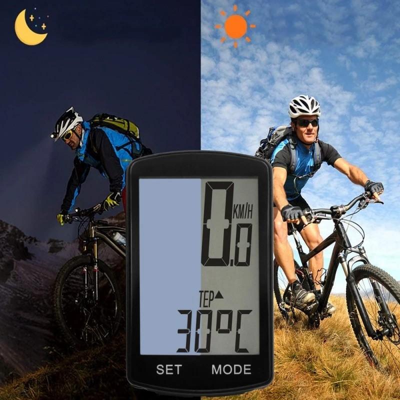 ProCart®  vezeték nélküli kerékpár computer, 19 funkció, LED kijelző, automatikus leállítás / indítás
