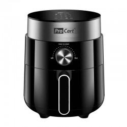 ProCart® AirFryer Forrólevegős sütő, 1200 W, 2,5 L kapacitás, digitális LED kijelző