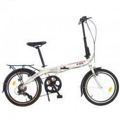 PHOENIX 20 hüvelykes összecsukható kerékpár, 7 sebesség, Shimano váltó, alumínium keret, csomagtartó