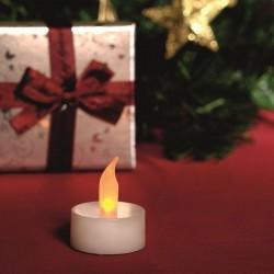 ProCart® LED gyertya lánghatással, kerek típusú 2x3,5 cm, meleg fehér