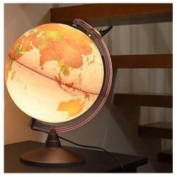 Glob geografic Marco Polo iluminat 26 cm