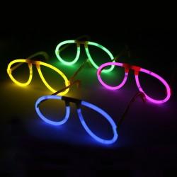 Pilóta alakú lumineszcens szemüveg