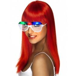 ProCart® Shutter Szemüveg, 3 színes LED-del a party számára