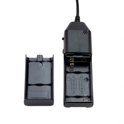 Invertor EL Wire cu senzor audio cu baterii 1-5m