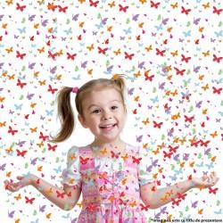 Tun confetti fluturasi pentru petreceri 60 cm