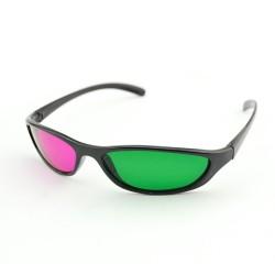 Ochelari 3d green-magenta SPORT cu rame si lentile din plastic