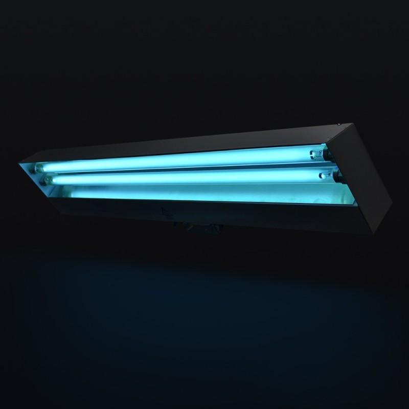 UV baktériumölő lámpa, 2x15W