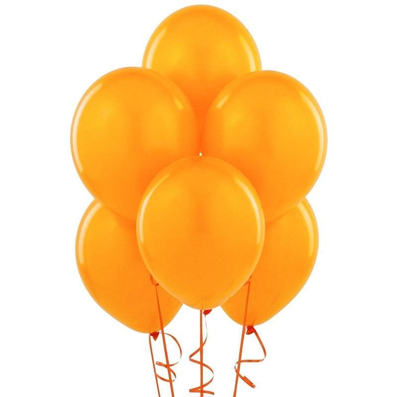 Baloane petrecere, diametru 30 cm, portocaliu, Funny Fashion