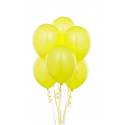 Baloane galbene party, 12 inch, latex, set 100 bucati, Funny Fashion