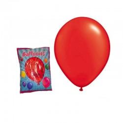 Baloane colorate pentru petreceri, 100 bucati, rosu, Funny Fashion