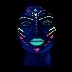 UV Neon festék, testfelületre és arcra, 13 ml, fluoreszkáló