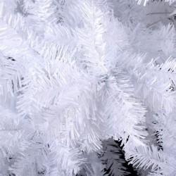 Brad artificial alb Deluxe, suport inclus, inaltime 220 cm