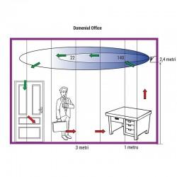 Lampa bactericida grilaj 15W, slim, economica, montare perete, Biocomp