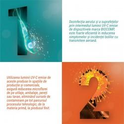 Lampa bactericida 30W economica cu reflector, Biocomp