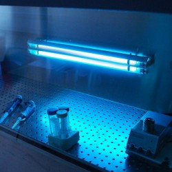 Lampa bactericida economica pentru dezinfectie, 2x15W, Biocomp