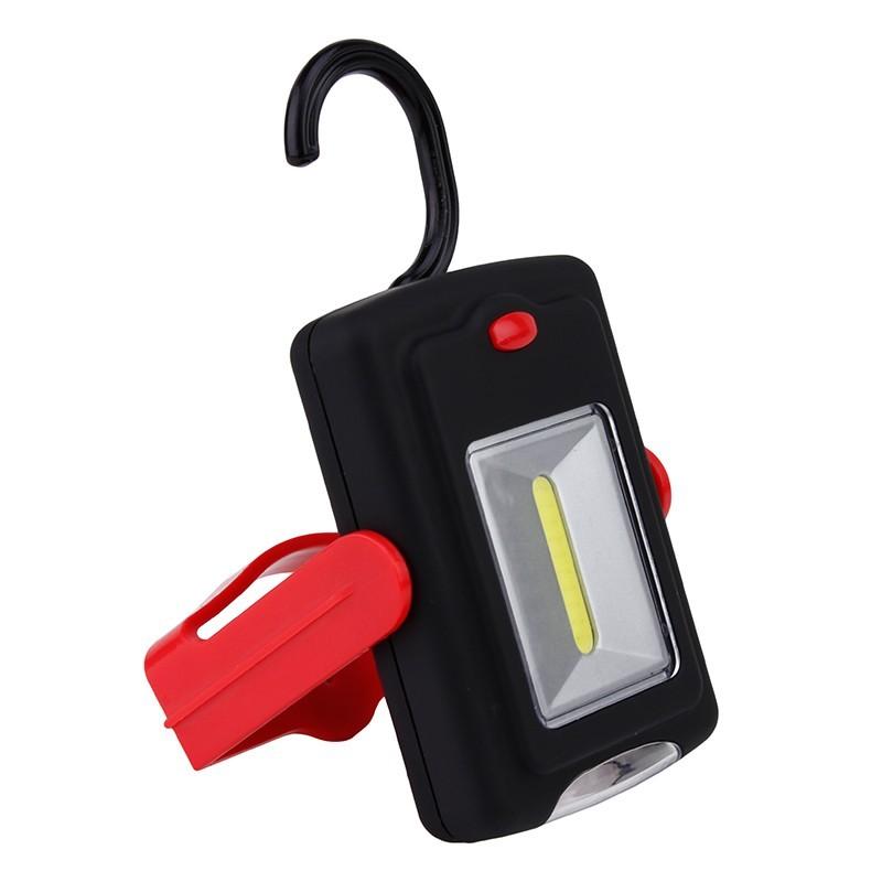 Lanterna camping LED SMD cu carlig si suport cu magnet