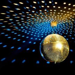 Glob disco cu oglinzi, diametru 20 cm, decor petreceri