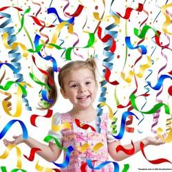 Tun confetti mixte pentru petreceri, 11 cm, 3 bucati, Funny Fashion