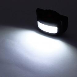 Far bicicleta 10 COB LED, 3 moduri iluminare, 3W, clema fixare, negru