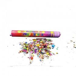Tun confetti multicolore pentru petreceri, lungime 40 cm, forme diverse