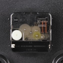 Ceas de perete, afisaj analog, termometru, higrometru, 25 cm, Esperanza Lyon