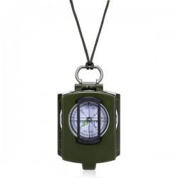 Busola prismatica profesionala, design militar, cadran rotativ 360 grade