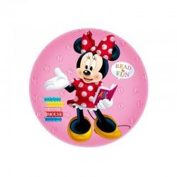 Balon folie Minnie Mouse, diametru 44 cm, petreceri copii